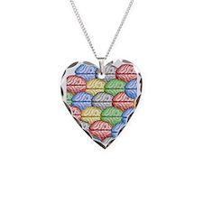 Colorful Brains Necklace