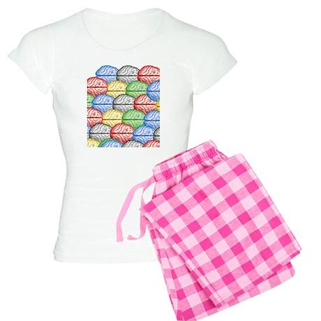 Colorful Brains Women's Light Pajamas