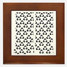 Triangle Illusion Framed Tile