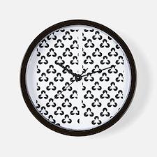 Triangle Illusion Wall Clock