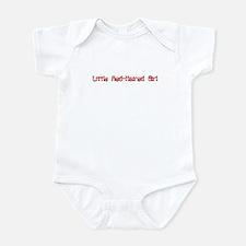 RED-HAIRED GIRL Infant Bodysuit