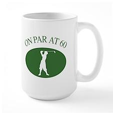 Golfer's 60th Birthday Mug