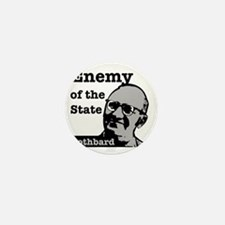 Enemy of the State - Rothbard Mini Button