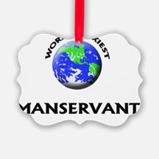 World's Sexiest Manservant Ornament