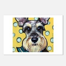 Niki the Schnauzer Postcards (Package of 8)