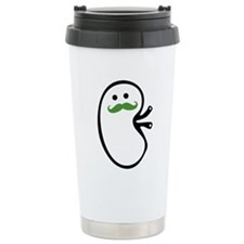 Kidney Mustache Travel Mug