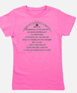 Dads Against Daughters Dating Rules Girl's Tee