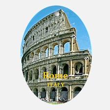 Rome_5X7_Card_v2_Colosseum Oval Ornament