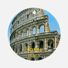 Rome_5X7_Card_v2_Colosseum Round Ornament