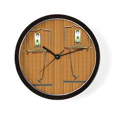 Mouse Trap flip flops Wall Clock