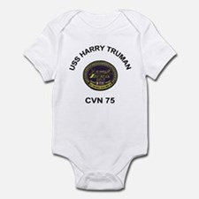 USS Harry S Truman CVN 75 Infant Bodysuit
