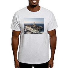 USS Harry S Truman Ship's Image T-Shirt