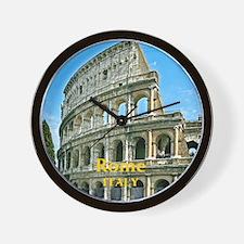 Rome_7.355x9.45_iPadCase_v2_Colosseum Wall Clock