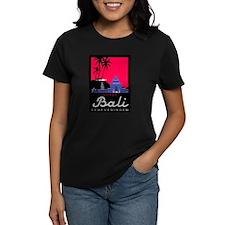 Bali Women's Violet T-Shirt