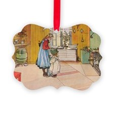 Churning Butter Ornament