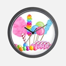 Candy Circus Wall Clock