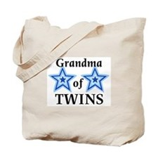 Grandma of Twins (Boys) Tote Bag