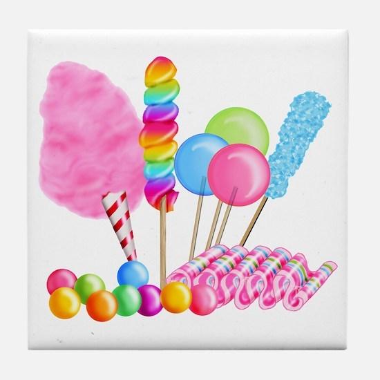 Candy Circus Tile Coaster
