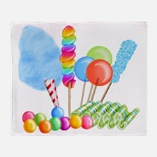 candy circus boy- png Throw Blanket