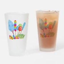 candy circus boy- png Drinking Glass