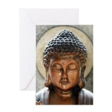 Buddha Blessing Greeting Card
