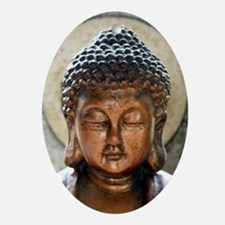 Buddha Blessing Oval Ornament