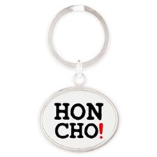 HONCHO! Oval Keychain