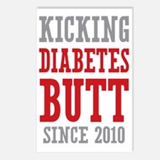 Diabetes Butt Since 2010 Postcards (Package of 8)
