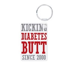 Diabetes Butt Since 2000 Keychains