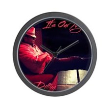 It's Our Night logo Wall Clock