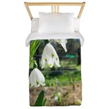 Lily of the Valley Twin Duvet