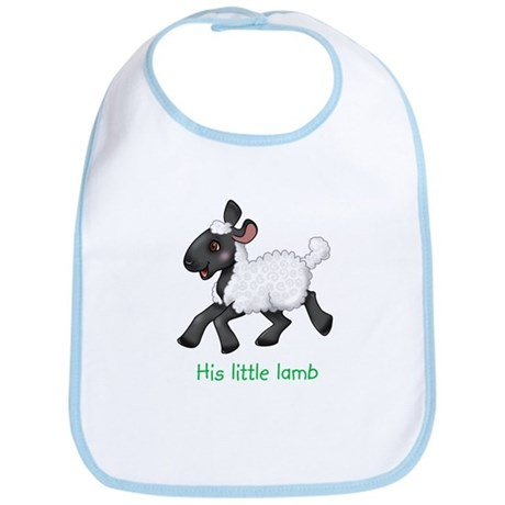 His Little Lamb Bib