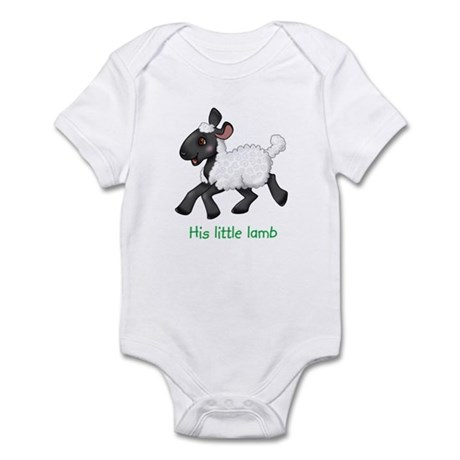 His Little Lamb Infant Bodysuit