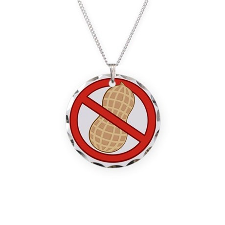 STOP Necklace Circle Charm