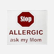 STOP Throw Blanket