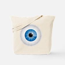 Bloodshot Blue Eyeball Tote Bag