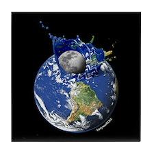Earth Splash Tile Coaster