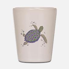 Swimming Sea Turtle Shot Glass