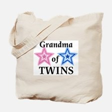Grandma of Twins (Girl, Boy) Tote Bag