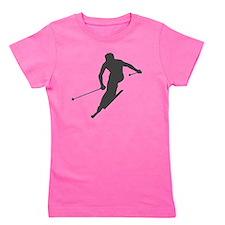 downhill-ski Girl's Tee