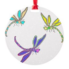 DRAGONFLY PARTY Ornament