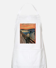 scream shirt Apron