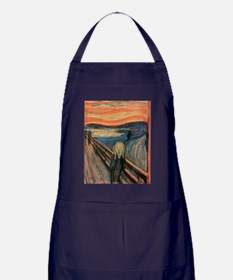 scream shirt Apron (dark)