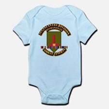 Army - 2nd ID w Afghan Svc Infant Bodysuit
