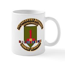 Army - 2nd ID w Afghan Svc Small Mug