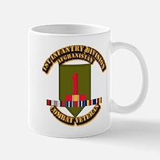 Army - 2nd ID w Afghan Svc Small Small Mug