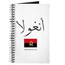 Angola Flag Arabic Journal