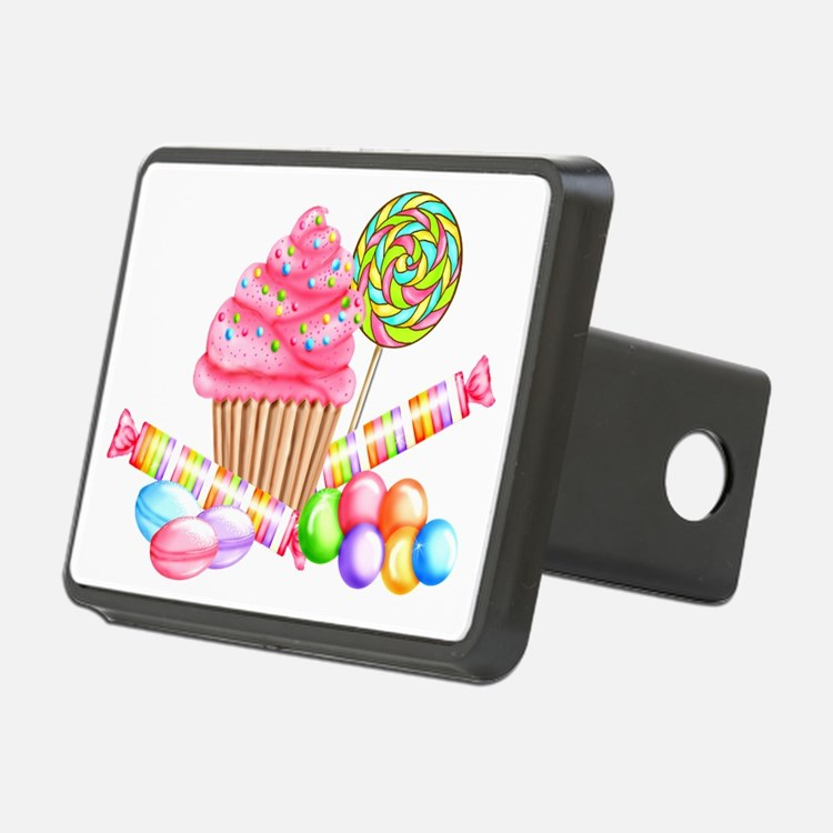 Wonderland Sweets Hitch Cover