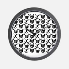 SNORT Collage Tee Wall Clock