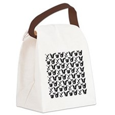SNORT Collage Tee Canvas Lunch Bag
